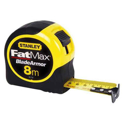 Stanley 8m FatMax Tape Rules with Blade Armor Coating - 33.732