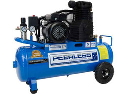 Peerless P14 Electric Belt Drive Air Compressor 55ltr # 00257