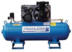 Peerless P17 Electric Fatboy Belt Drive Air Compressor 108ltr - 00380