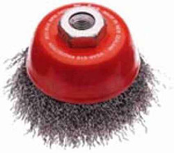 Josco 75mm Crimped Cup Brushes #153-3CARD