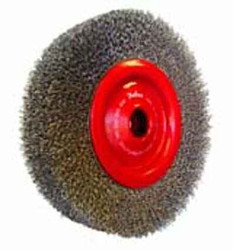 Josco 150mm Crimped Wire Wheel Brush for Bench Grinders #102CARD