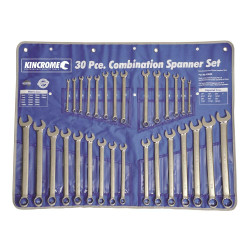 Kincrome 30pce AF/Metric Combination Spanner Set - K3030