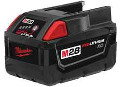 Milwaukee M28 XC High Capacity 3.0Ah 28V Lithium Ion Battery - M28BX