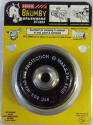 Josco Cup Steel Brush for Angle and Die Grinders #BTC803