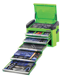 Kincrome Contour 328pce 8 Drawer Monster Green Tool Chest - K1502G