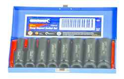 Kincrome 8 Piece AF 1/2 Square Drive Deep Impact Socket Set #13365