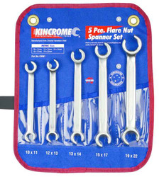 Kincrome 5pce Metric Flare Nut Spanner Set #K3061