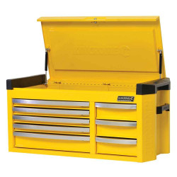 Kincrome Contour 8 Drawer Extra Wide Wasp Yellow Tool Chest - K7758Y