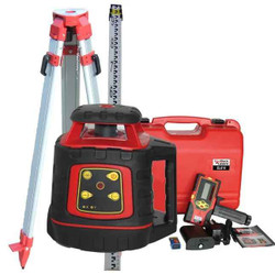 RedBack Lasers Electronic Levelling Laser Level Package Tripod Staff #EL614P