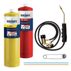 Bernzomatic MAP and Oxygen Brazing Torch Kit - WK5500XTK