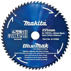 Makita 255mm 64T Mitre Saw Blade #B-15300