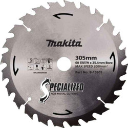 Makita 305mm 60T Metal Cut Blade #B-15805