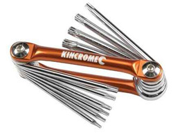 Kincrome Tamperproof Torx Set 10pce #K5048