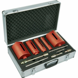 OX Professional 5pce Dry Core Drill Kit # OX-PCC-5