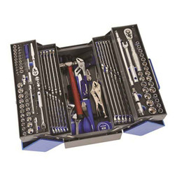 Kincrome 163pce 1/4, 3/8 and 1/2 Square Drive Imperial and Metric Cantilever Tool Kit #K1620