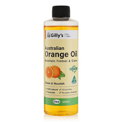 Gillys Furniture Polish Orange Oil 250ml # GILLY127