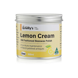 Gillys Old Fashioned Furniture Polish - Lemon Cream # GILLY028