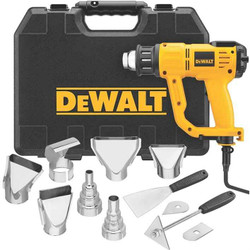 Dewalt 2000W Heat Gun With LCD Display Kit Accs BONUS # D26414K-XE
