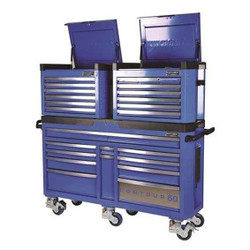 Kincrome CONTOUR 60 Superwide 3pce Trolley and Chest Combo #K7863