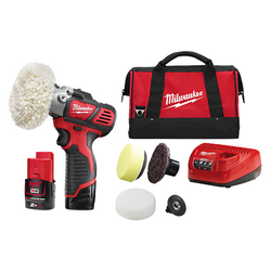 Milwaukee M12 Lithium Ion 12v Cordless Spot Polisher-Detail Sander Kit # M12BPS-202B