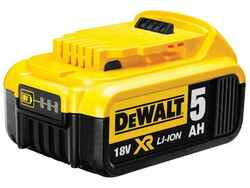 Dewalt 18V 5.0Ah Lithium Ion XR Series Slide Battery Pack #DCB184-XE