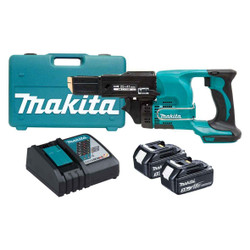 Makita 18V LXT Lithium Ion Cordless Auto Feed Screwdriver - DFR450RFEX