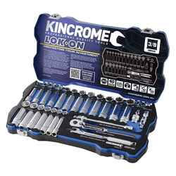 Kincrome LOK-ON 45pce 3/8 Square Drive Socket Set #K27013