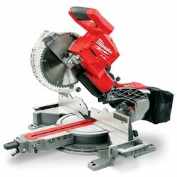 Milwaukee M18 FUEL 254mm 10 Dual Bevel Sliding Compound Mitre Saw - Skin Only # M18FMS254-0