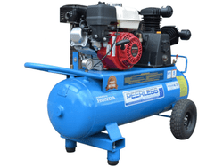 Peerless 2 Stage Petrol Air Compressor 68ltr with Idler Control PHP15P #00101