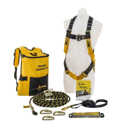 Beaver B-Safe Safety Harness Tradie Roofer Complete Roofing Kit #BK061215TRAD