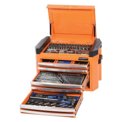 Kincrome Contour 207pce Tool Kit in 8 Drawer Orange Chest #K1509O