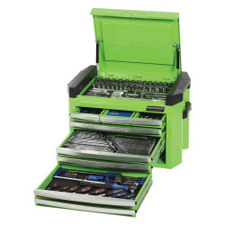 Kincrome Contour 207pce Tool Kit in 8 Drawer Green Chest #K1509G