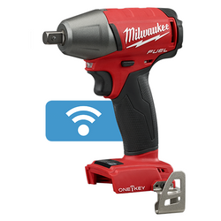 Milwaukee ONE-KEY 18v Cordless M18 FUEL 1/2 Impact Wrench - Pin Indent - Skin Only #M18ONEIWP12-0