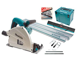 Makita 165mm Plunge Cut Circular Saw Kit - SP6000JTX2