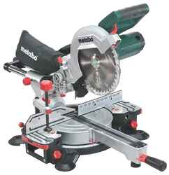 Metabo 216mm 8-1/2 Slide Crosscut Laser Mitre Saw 1350w # KGS216M