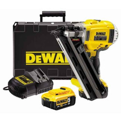 Dewalt Cordless 18V XR Li-Ion Brushless 2 Speed Framing Nailer Kit - DCN692P2-XE