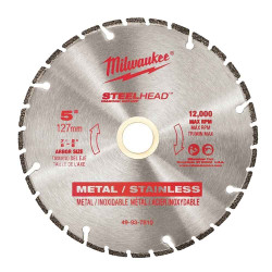 Milwaukee 125mm Steelhead Diamond Cut Off Blade 5 # 49937810