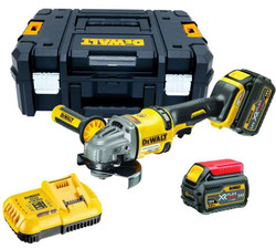 Dewalt 18V/54V6.0Ah XR FLEXVOLT 125mm Brushless Angle Grinder Kit - DCG414T2-XE