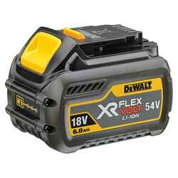 Dewalt 18V/54V XR FLEX VOLT 6.0Ah Lithium-Ion Battery - DCB546-XE