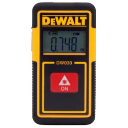 DeWalt 9M Pocket Laser Distance Measurer - DW030PL-XJ