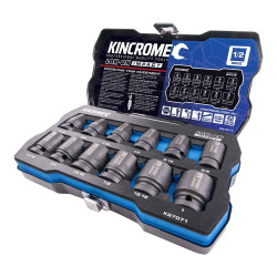 Kincrome LOK-ON 12pce Imperial 1/2 Impact Socket Set - K27071