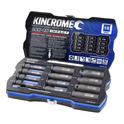 Kincrome 12pce 1/2 Imperial LOK-ON Deep Impact Socket Set - K27073