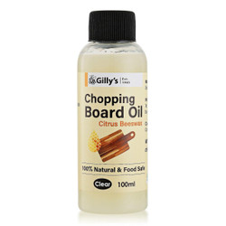 Gillys Citrus and Beeswax Chopping Board Oil 100ml - GILLY565BEE