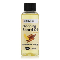Gillys Lemon Chopping Board Oil 100ml - GILLY565LEMON