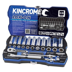 Kincrome LOK-ON 28pce Metric Socket Set - K27011