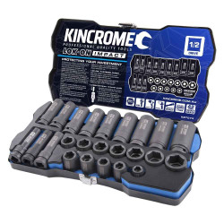 Kincrome 24pce Metric LOK-ON Impact Socket Set - K27074