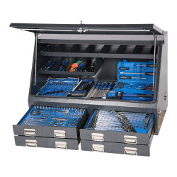 Kincrome 232pce Upright Charcoal Truck Box Tool Kit - K1259