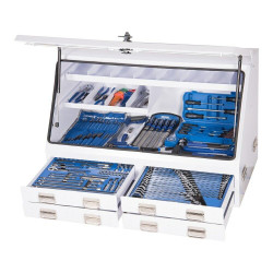 Kincrome 232pce Upright White Truck Box Tool Kit - K1259W