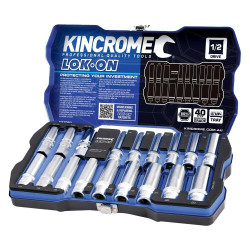 Kincrome Lok-On 18pce Socket and Spark Plug Set 1/2 Drive - K27060
