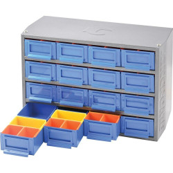 Kincrome 16 Drawer Multi Cabinet 64 Removable Trays - K7640